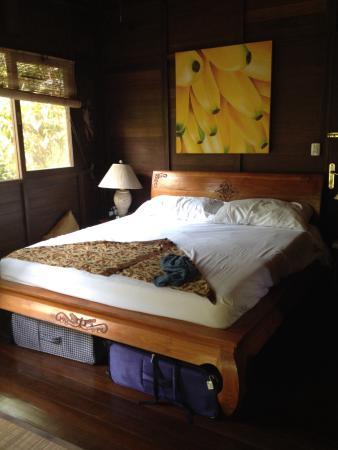 Bali Rica Casitas: Bed