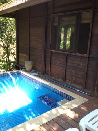 Bali Rica Casitas: Private pool