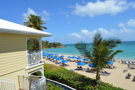 Frenchman S Reef Morning Star Marriott Beach Resort From Room Balcony