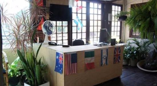 Hostel Lobo Inn : Recepção