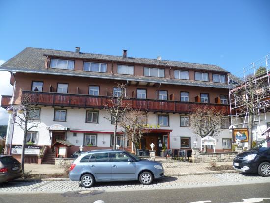 Wochner's Hotel Sternen : Aussenansicht
