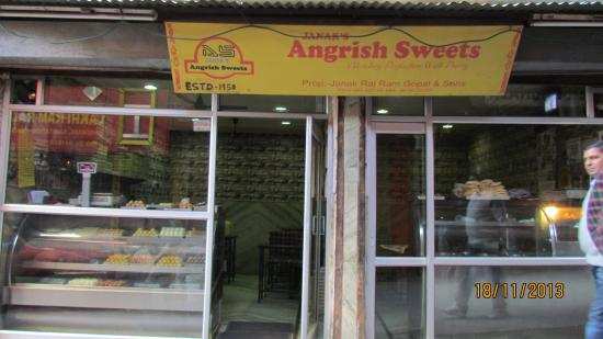 Janak's Angrish Sweets