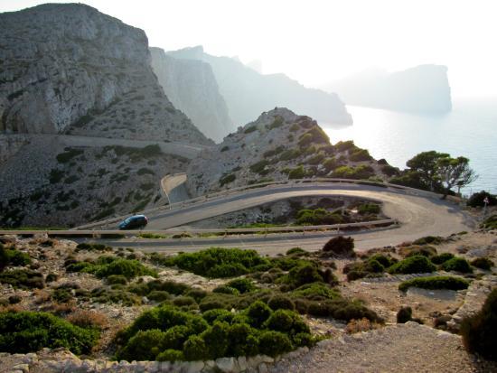 Formentor, Spain: Дорога на маяк