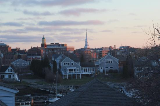 Portsmouth Harbor Inn and Spa: view of Portsmouth