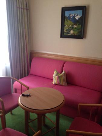 Restaurant Hotel Schrofenstein: Unser Zimmer