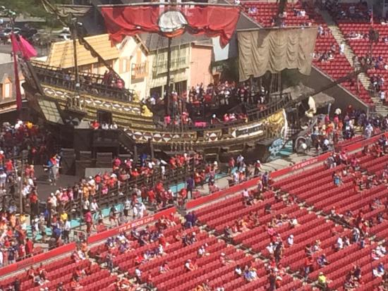 e22ac043 Pirate Ship at Raymond James Stadium - Picture of Raymond James ...