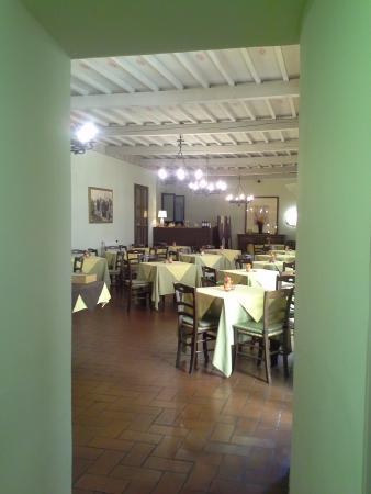 San Lino: saletta colazione
