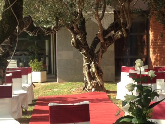 Hotel Les Torres: Evento exterior