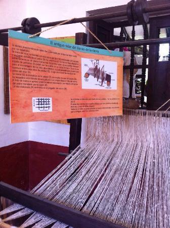 Charala, Colombia: Museo del Algodon y el Lienzo de la Tierra