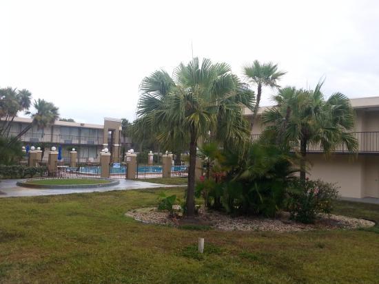 Quality Inn & Suites: Pool area looks nice