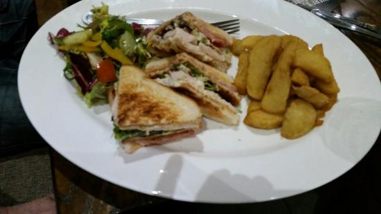 Hotel Rudyard Carvery: Lovely sandwiches at The Hotel Rudyard. Lovely pub which has recently undergone renovation. The