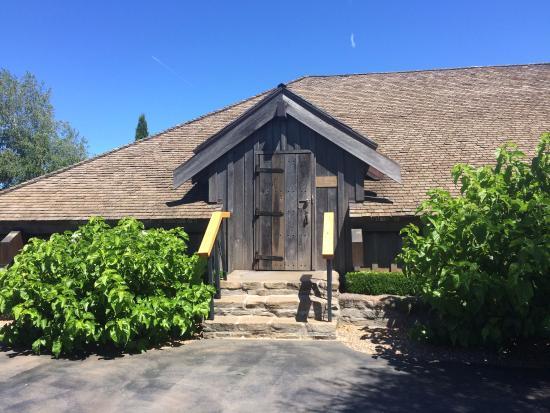 Dayton, OR: Door to the tasting room