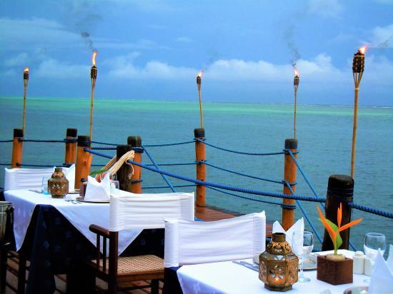 """Dongwe Club: La terrazza del ristorante """"Il Pontile"""""""