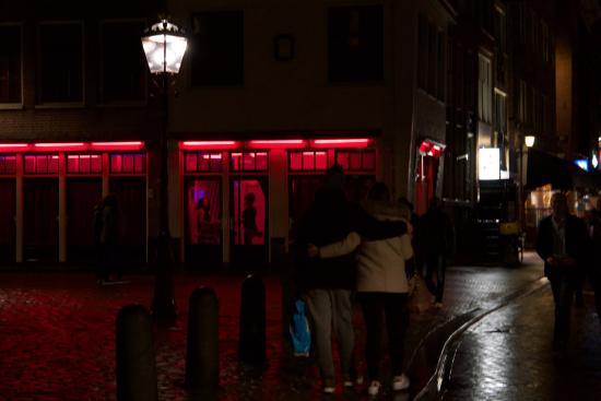 Rotlichtviertel Walletjes: red light girls
