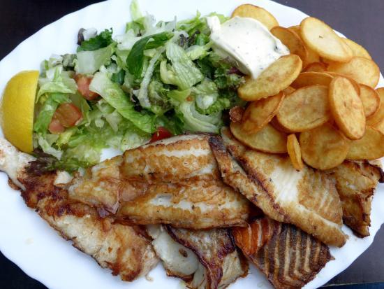Schabi's Fischimbiss: Gemischter Fischteller
