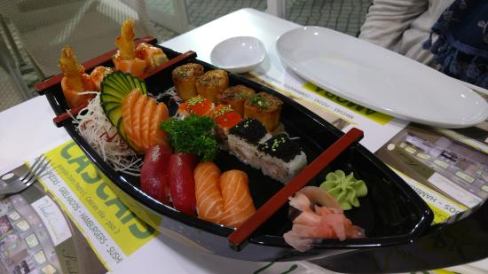 Caparica, Portugal: Sushi do Chefe.