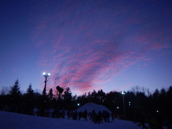 Henniker, Nueva Hampshire: dawn at Pat's Peak