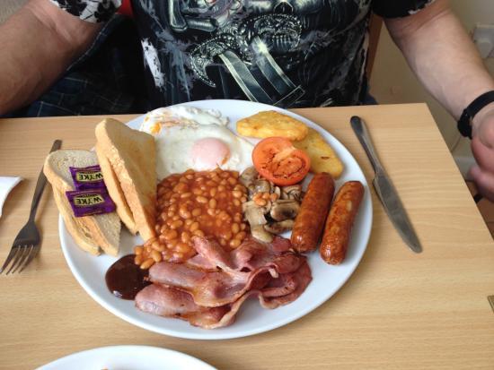"""Boscastle, UK: """"Mega Breakfast"""""""
