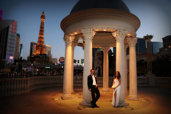 Fantasy las vegas strip wedding chappels mine