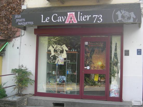 Challes-les-Eaux, فرنسا: magasin