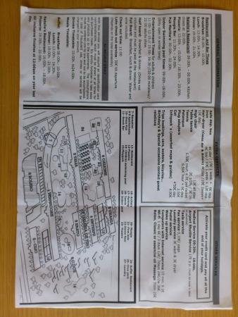 Club Martha's Aparthotel: site layout