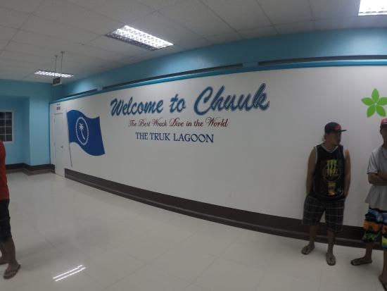 Truk Lagoon: Airport
