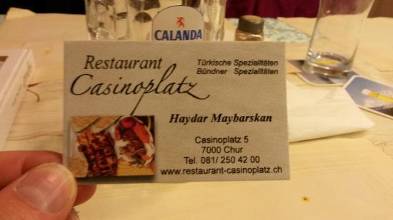 Restaurant Casinoplatz