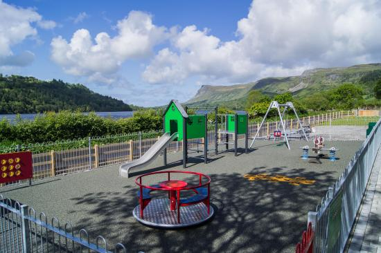 County Leitrim, Irland: Playpark and Glencar Valley