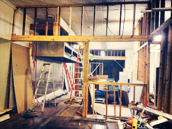 Holly Springs, MS: Our building renovation