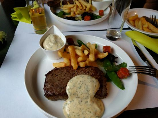 Restaurant de la Place : Steak tartaar