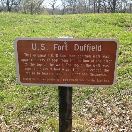 Fort Duffield - outside of Louisville at West Point, KY