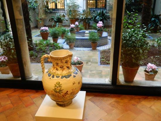 Jard n de entrada picture of museo sorolla madrid for Jardin andaluz