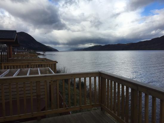 Balcony - Loch Ness Highland Lodges Photo
