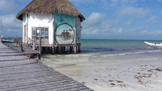 Hostel & Cabanas Ida y Vuelta Camping: playa