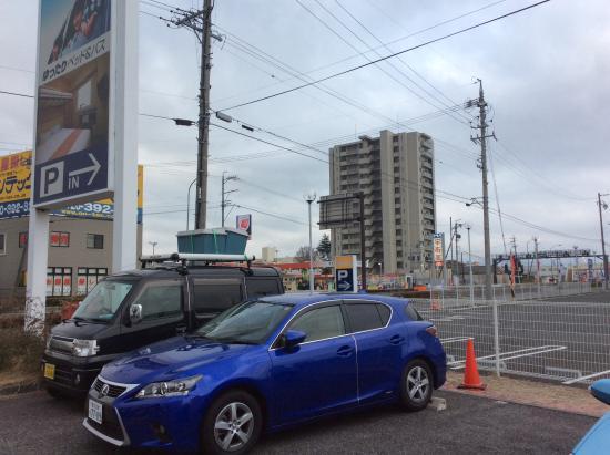 Chisun Inn Shiojiri Kita IC : ホテルの正面から右方向風景