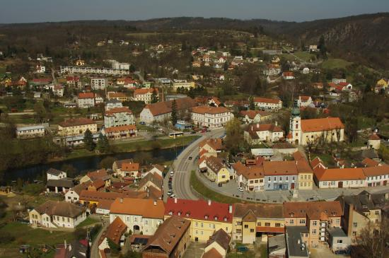 Vranov nad Dyji, República Checa: View from the castle