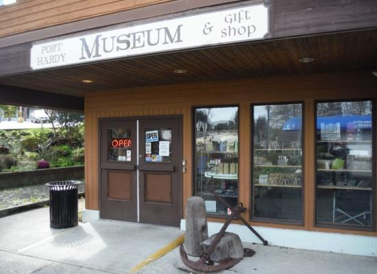 Port Hardy, Canadá: MUSEUM AND GIFT SHOP ENTRANCE