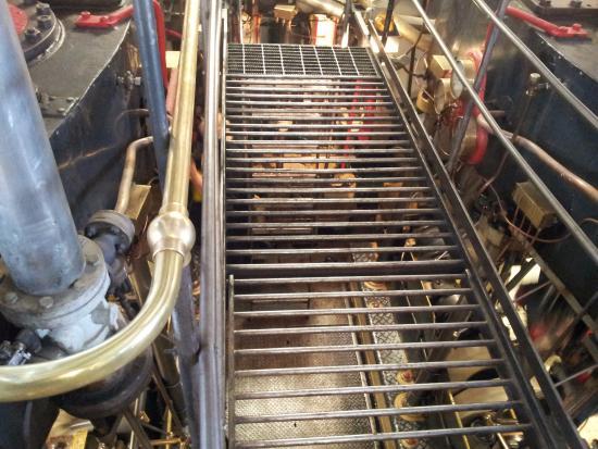 Queenstown, Yeni Zelanda: Engine room
