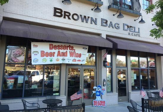 Brown Bag Deli And Cafe Picture Of