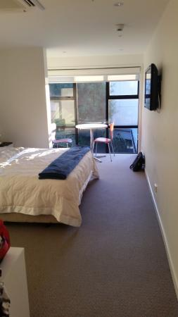 New Plymouth, New Zealand: Good sized room