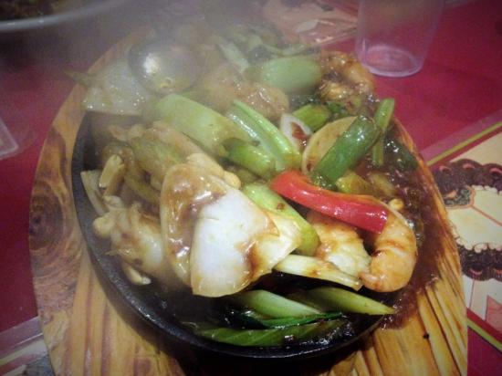 Greenwood, Australia: Sizzling Seafood