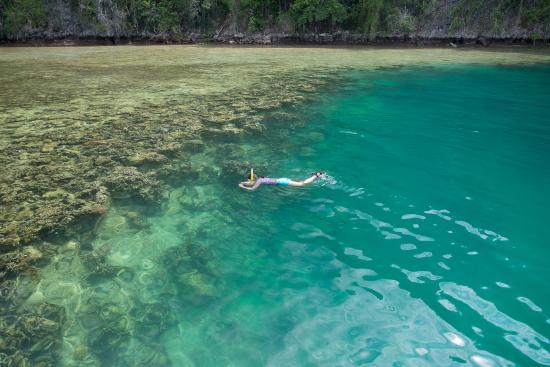 Kendari, Indonesia: blue hole