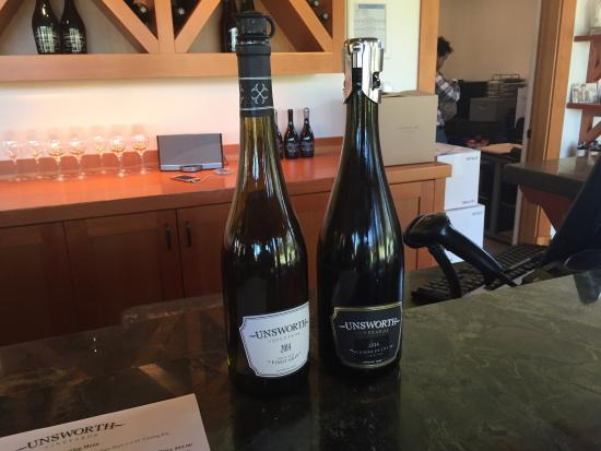 Mill Bay, Canadá: Unsworth Vineyards
