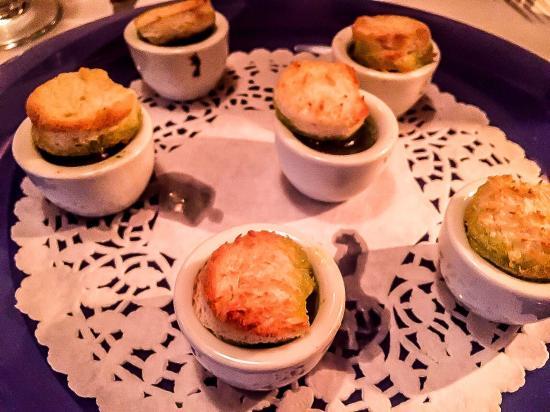 Patrick Bermand Restaurant: Escargot with mushroom