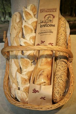 Cowansville, แคนาดา: Boulangerie La Mie Bretonne
