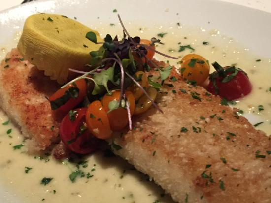 Eddie V's Wildfish: North Atlantic Lemon Sole.