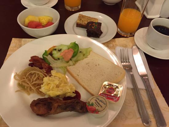 Hotel Cesario: ベラビスタでの朝食