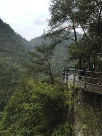 Shibawo Scenic Resort of Pan'an: 阴雨蒙蒙的时候更加迷人 宛如仙境
