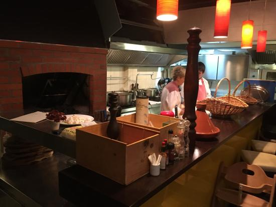 Villa Amfora : Restaurant