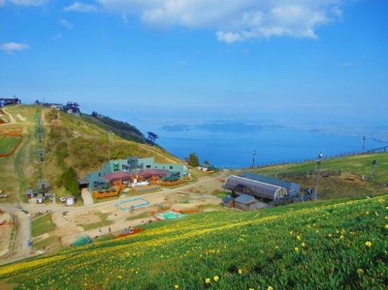 びわ湖バレイ, 眼下に琵琶湖が見えます